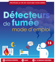 D tecteurs autonomes avertisseurs de fum e daaf for Obligation detecteur de fumee