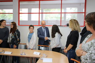 Jean-Michel Blanquer, ministre de l'Éducation nationale, était en déplacement à Nancy